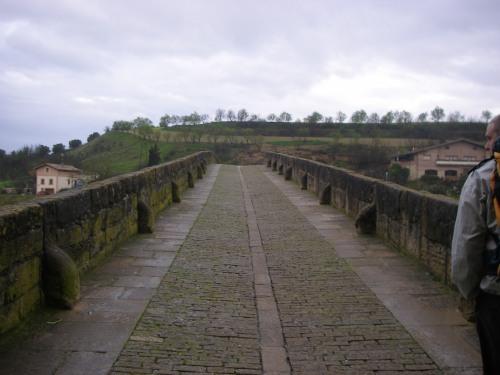 Puente de la Reina. Perspectiva del Puente