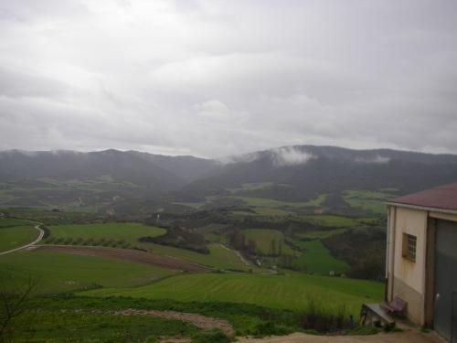 Vista desde Cirauqui