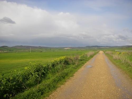Camino a Sansol y Torres del Río