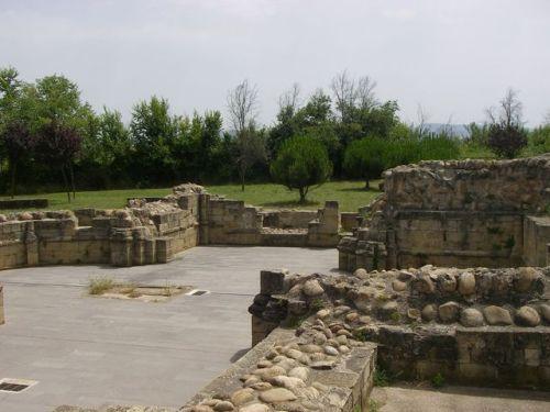 Navarrete. Restos del antiguo hospital de Perregrinos.
