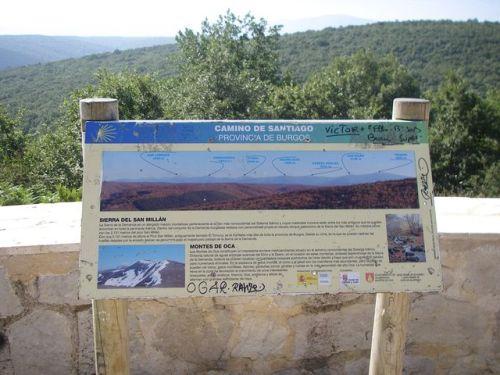 Camino de Belorado a San Juan de Ortega