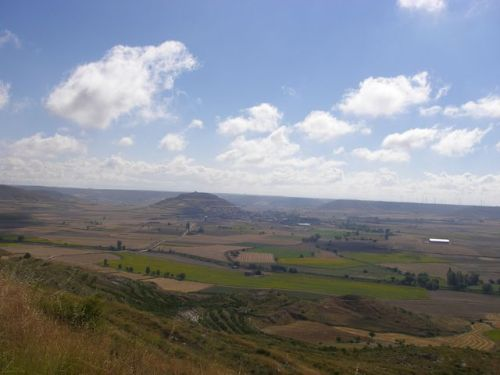 Vista desde la cima de Mostelares