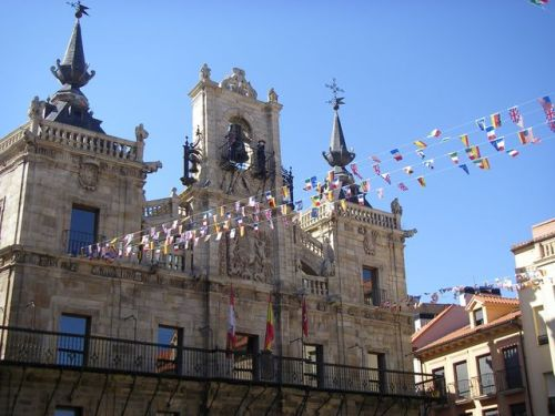 Camparnario Plaza Mayor de Astorga