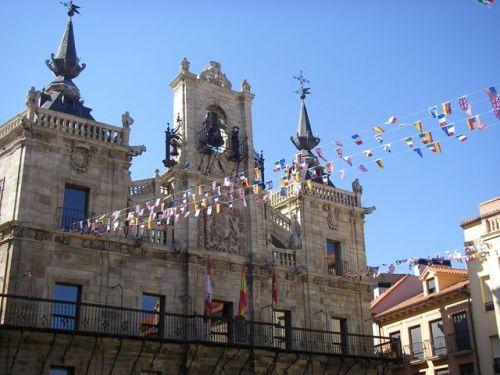 Camparnario Plaza Mayor de Astorga