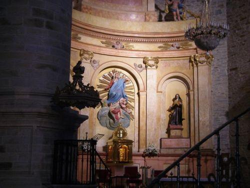 Colegiata de Santa María. Villafranca del Bierzo