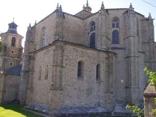 Colegiata de Santa María. Villafranca del Bierzo.