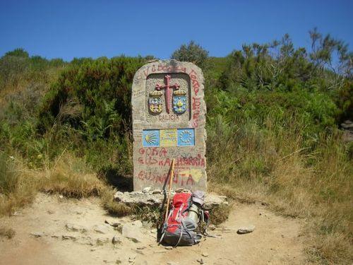 O Cebreiro. Entrada a Galicia