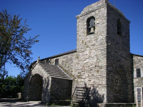 O Cebreiro. Iglesia de Santa María la Real de O Cebreiro