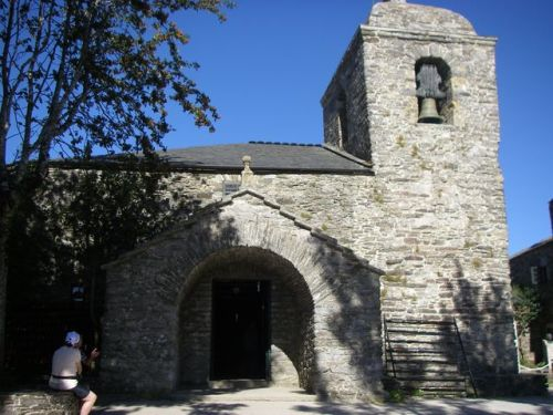O Cebreiro. Iglesia de O Cebreiro