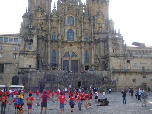 Santiago de Compstela. Catedral. Plaza del Obradoiro