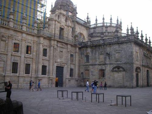 Plaza de la Quintana. Puerta Santa