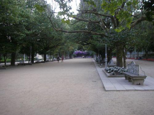 Santiago de Compostela. Parque de la Alameda