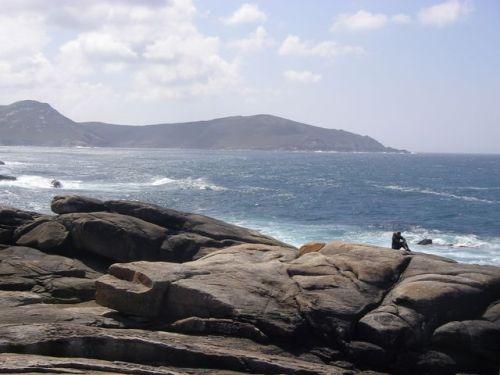 Muxia. Vista del Atlántico