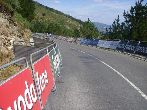 """Etapa vuelta ciclisa de España """"Fin del Mundo·"""