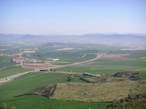 Vista desde el Monte del Perdon