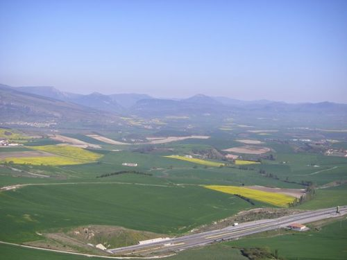 Vista desde el Monte del Perdón