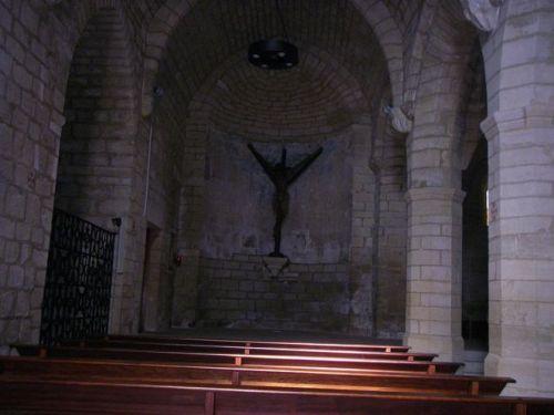Capilla del Santo Cristo en Puente de la Reina.