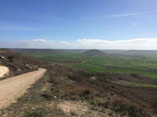 Camino de Hontanas a Fromista