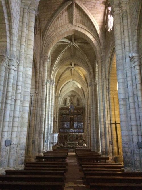 Iglesia de Satna María la Blana de Villalcázar de Sirga