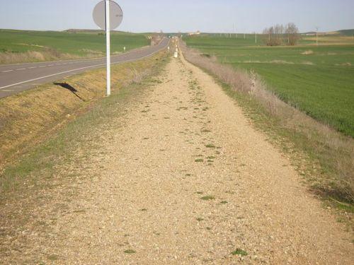 Camino de Fromista a Carrión de los Condes