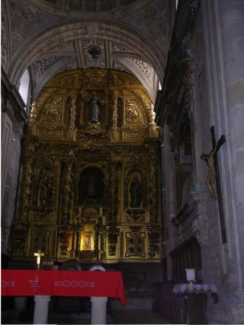 Altar Mayor Iglesia Santa María del Camino. Carrión de los Condes