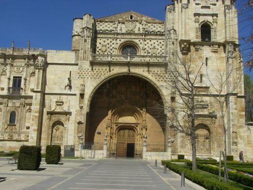 Mansilla de las Mulas a León. Iglesia de San Marcos. Antiguo Hospital de Peregrinos