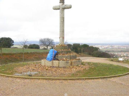 Cruz de Santo Toribio. Vista de Astorga