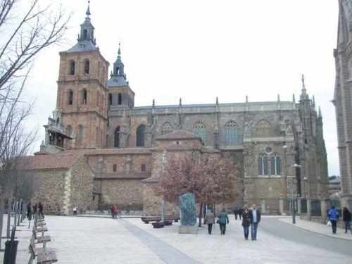 Camino de Hosptial de Órbigo a Astorga