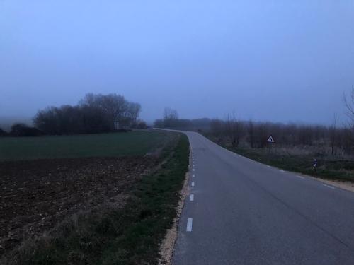 Camino de Agés a Burgos
